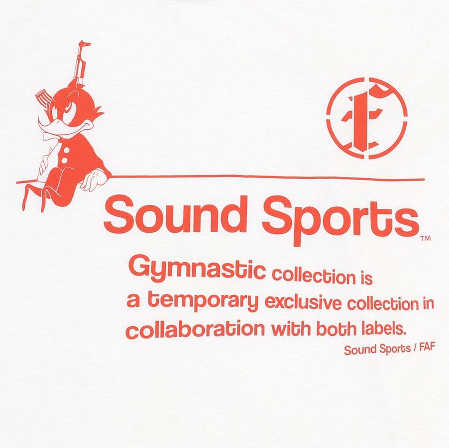 Practice uniform tee (FAFxSound Sports) / White - 画像3