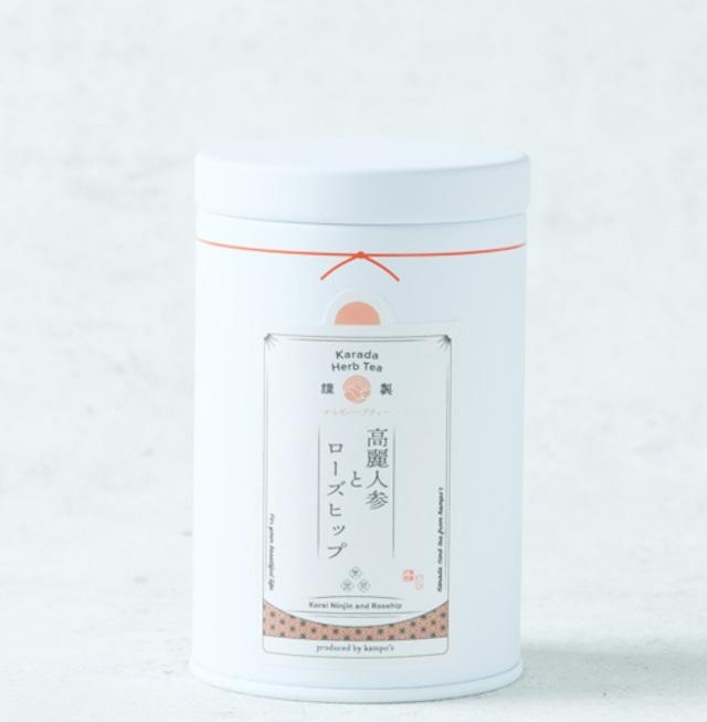 高麗人参とローズヒップ(薬膳茶)