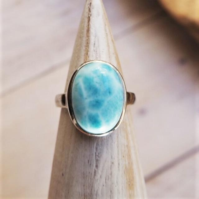 Larimar Ring 18388994-l【13号〜16号】