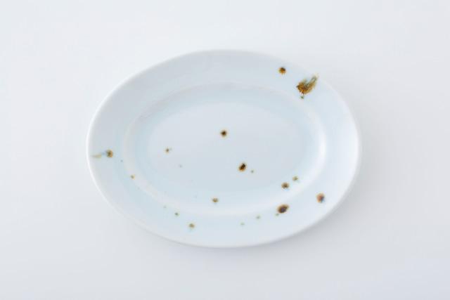 リム楕円皿:02 / 人見 和樹