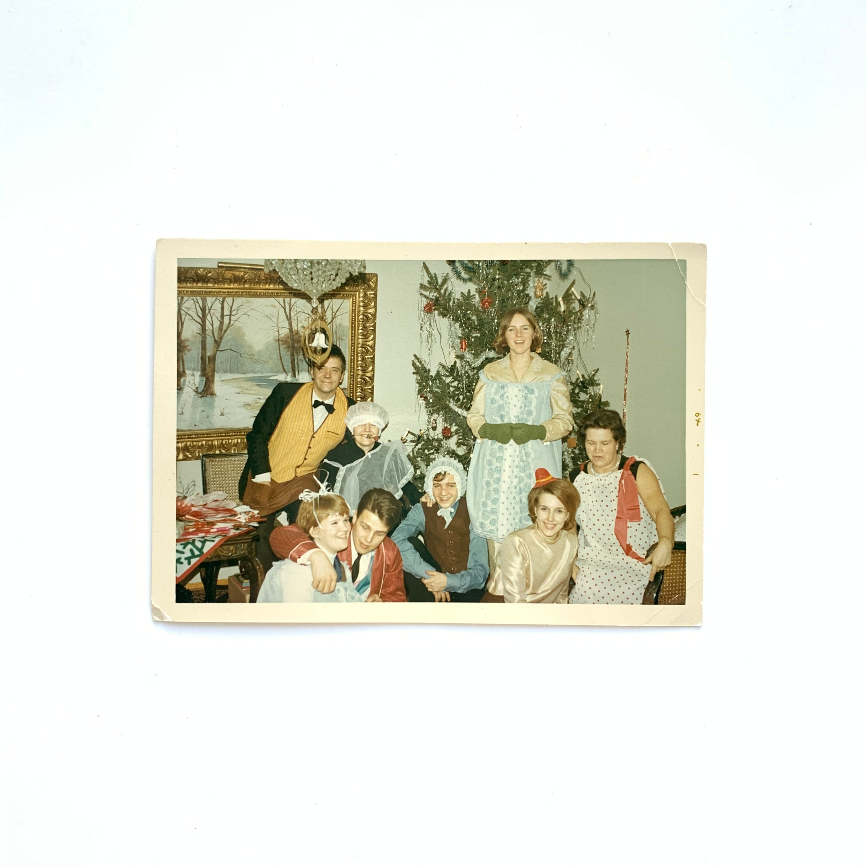 Vintage Photo / Christmas Party