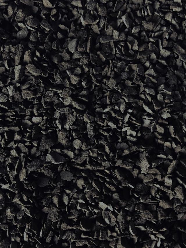 瓦化粧石 黒燻・S 1L