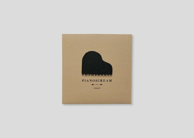 repair 1st CD album 「PIANOSCREAM」/repair