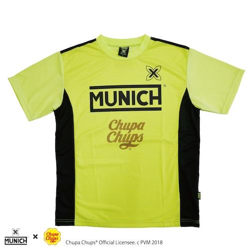 【MUNICH】ムニック Chupa Chups®︎昇華ロゴ プラクティスシャツ