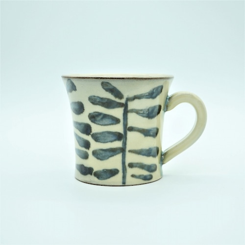 マグカップ 木の葉(このは)【壺屋焼窯元 幸陶器】