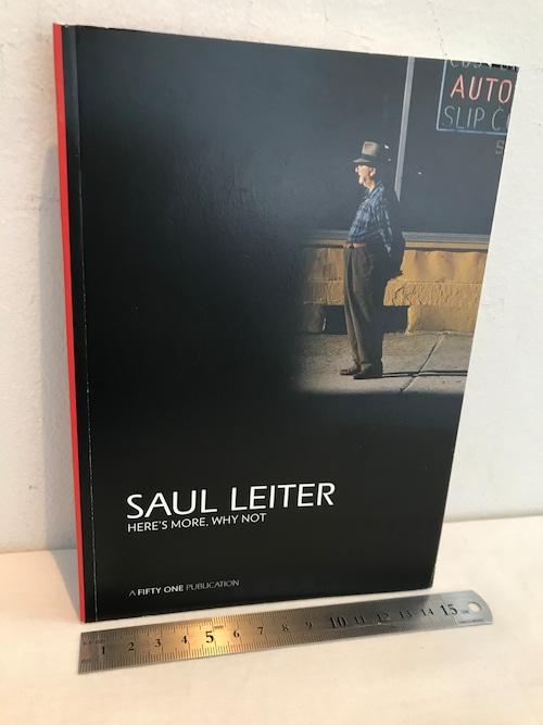 ソール・ライター SAUL LEITER   HERE'S MORE ,WHY NOT