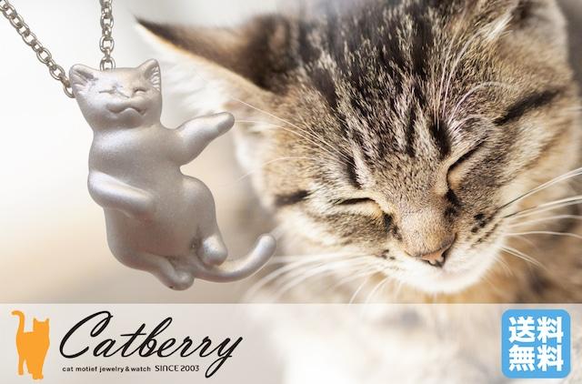 お昼寝猫ペンダント