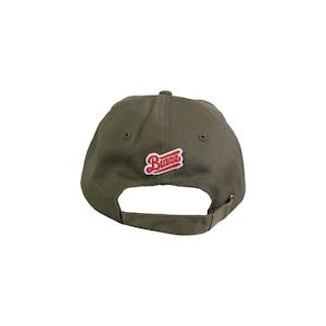 MINI LOGO COTTON CAP [BROWN KHAKI x PALE GOLD]