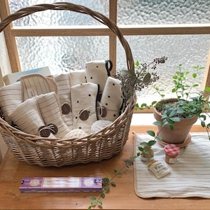 [a.poel] Frame kitchen cloth (全2種)