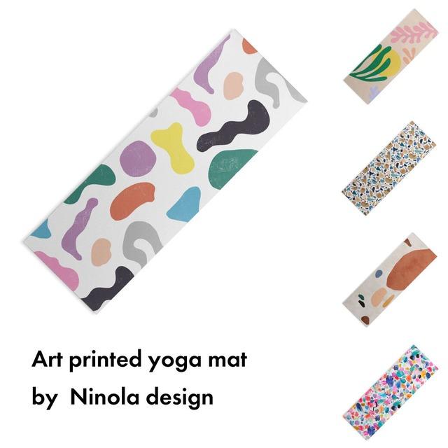 アートプリント ヨガマット -by ninola design【受注生産品: 11月中旬頃入荷分 オーダー受付中】