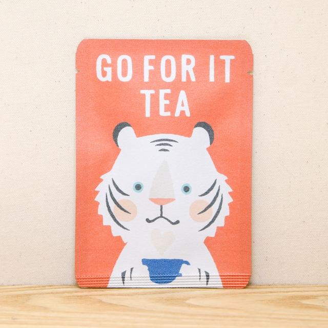 GO FOR IT TEA|ごあいさつ茶|和紅茶ティーバッグ1包入り