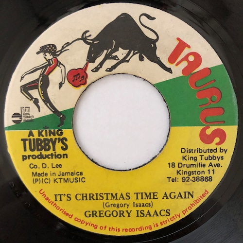 Gregory Isaacs - Christmas Time Once Again【7-20589】