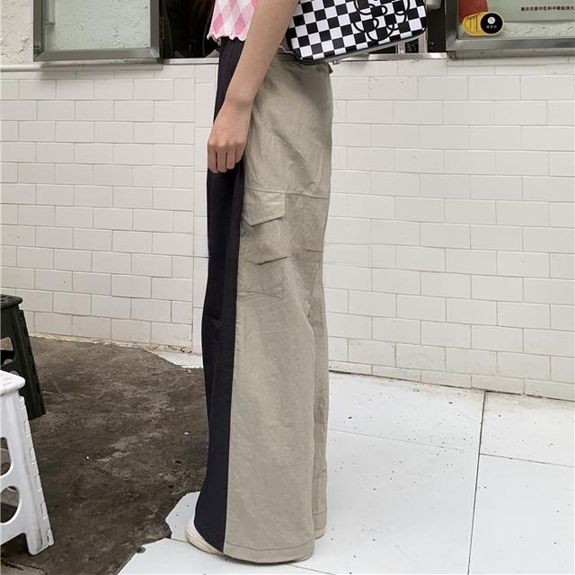 2 color sports wide pants(2カラースポーツワイドパンツ)b-254