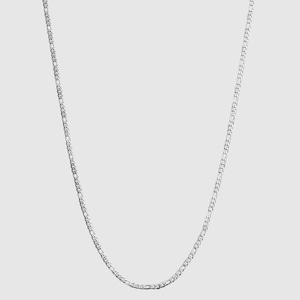 Figaro Chain Necklace【3mm/SILVER】
