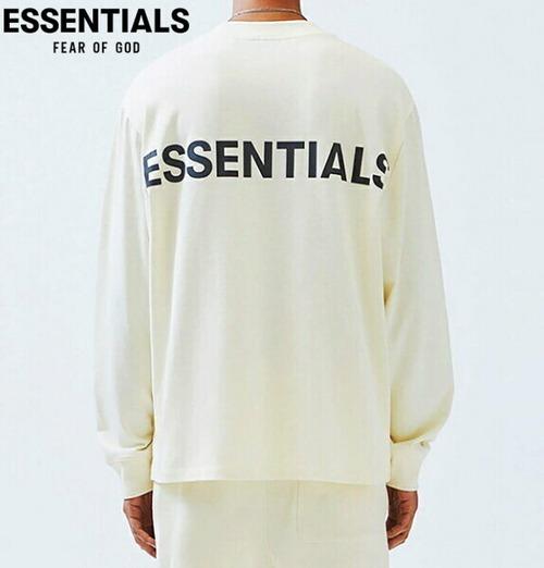 エッセンシャルズ ロンT フィアオブゴッド エッセンシャルズ リフレクター ロゴ 長袖 Tシャツ FOG ESSENTIALS REFLECTOR LOGO LS T-SHIRT クリ-ム