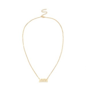 【翌日発送】数量限定 Year logo necklace LD0120