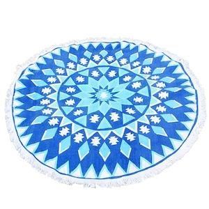 厚手♪マルチカバー ソファーカバー ブルー色がキレイなタオル地 BET006