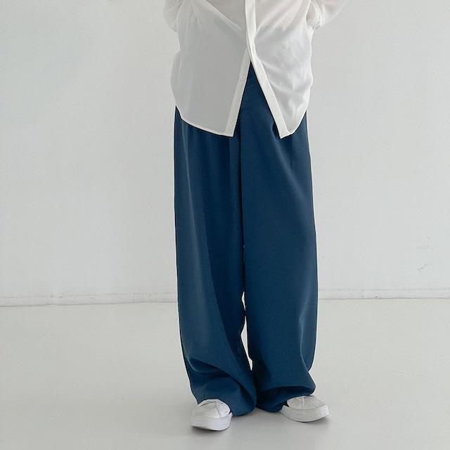 Drape mopping color pants   b-461