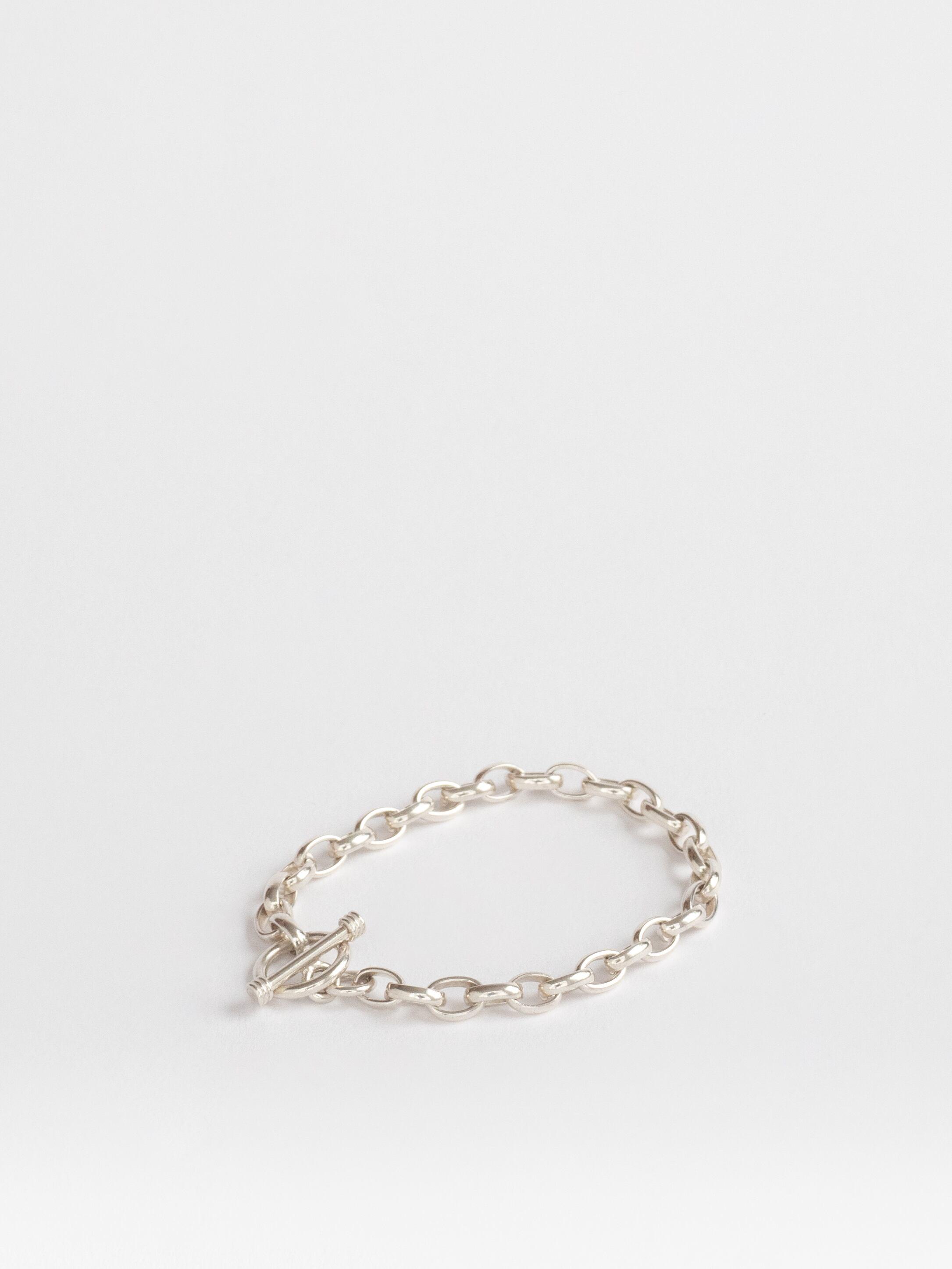 Oval Chain Bracelet / Mexico