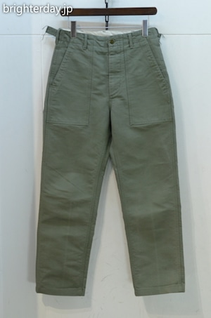 ENGINEERED GARMENTS FATIGUE PANT COTTON DOUBLE CLOTH