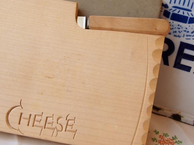 イギリスアンティーク チーズボード&ナイフ