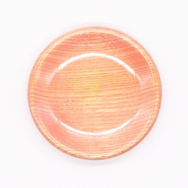 【限定1点 アウトレット品】山中漆器 栓3.5 豆皿 カラフル ピンク 254445 豆豆市192