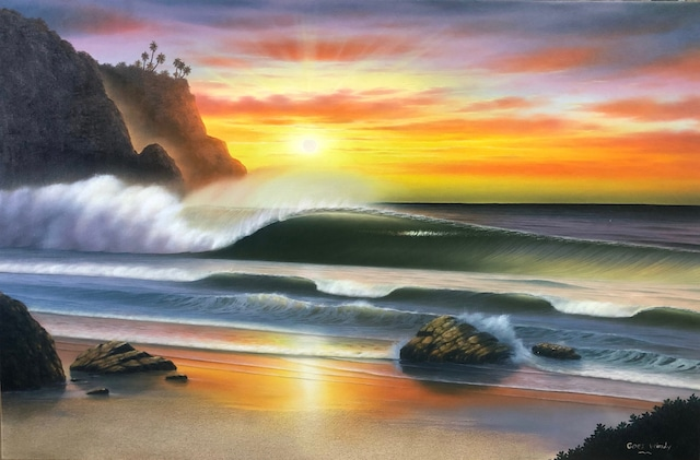 Dreamland Wave Art 特別製作品M40 with Real sand