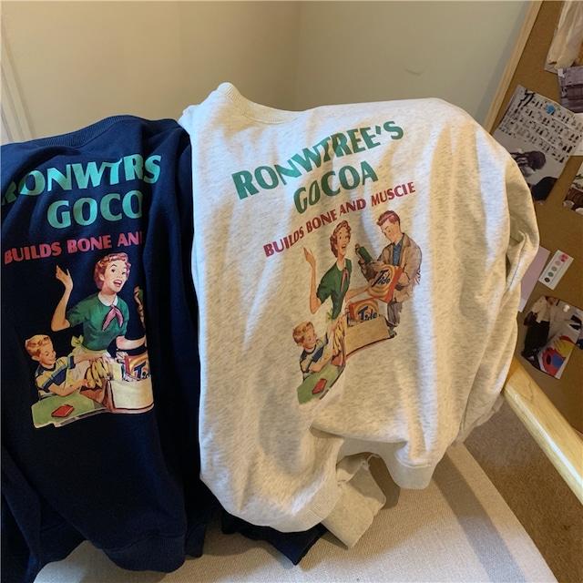 アメリカンレトロコミックセーター