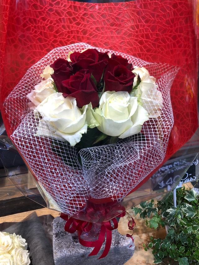 【告白、プロポーズなどの特別な日に】バラ12本の花束 TAKE OUT