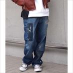 【sandglass】custom denim pants/【サンドグラス】カスタム デニム パンツ