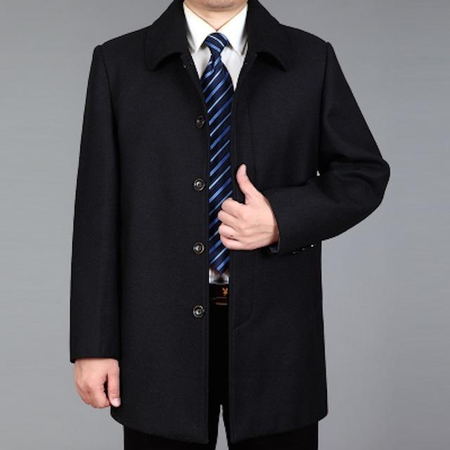 チェスターコート メンズ トレンチコート ジャケット ビジネス カジュアル ロングコtps-1150