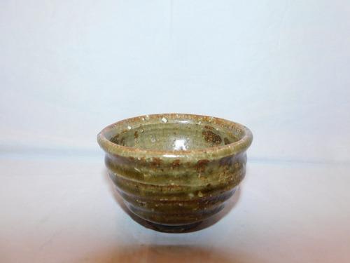 備前盃(No2) porcelain sake one cup