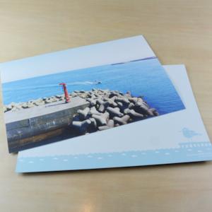 内川ポストカードVol.3(灯台とボート)