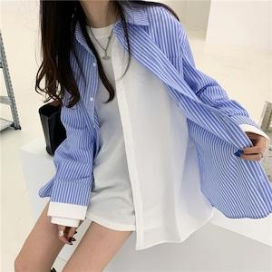 レイヤードロングシャツ RD8327