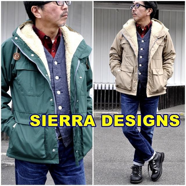 SIERRA DESIGNS  シェラデザイン BOAPARKA ボアパーカー メンズ マウンテンジャケット ナイロンジャケット 6504 送料無料