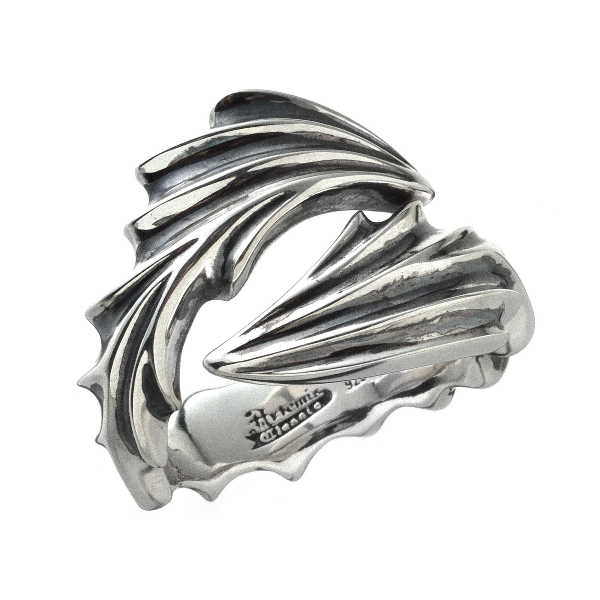 ドラゴンシールドリング ACR0262 Dragon shield ring