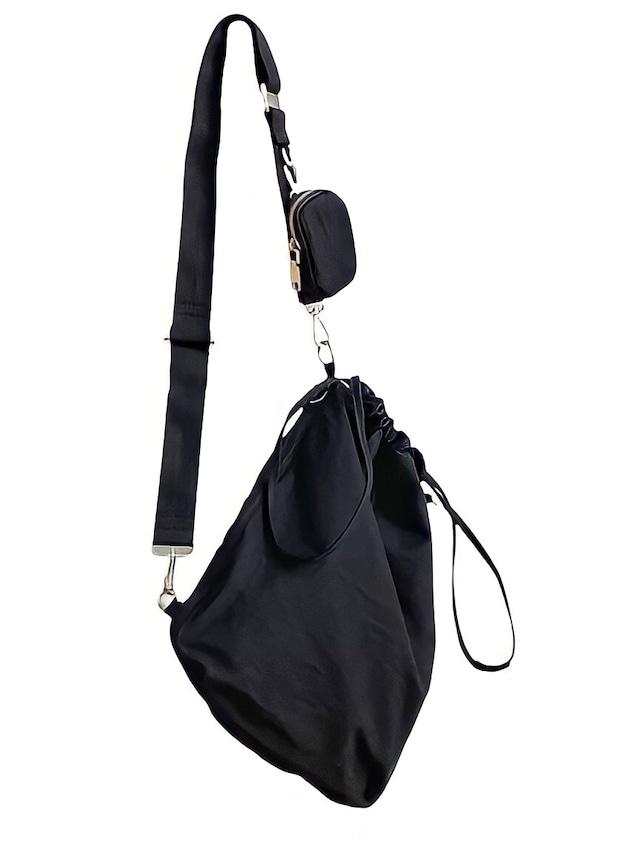 【UNISEX】POCKET SLING BAG / 2colors