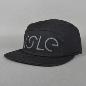 ISLE / FREE / BLACK / 5PANEL CAP
