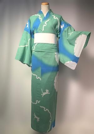 エディゆかた 雪輪ー空ぼかし(受注)