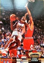 NBAカード 92-93TOPPS Ledell Eackles #37 BULLETS