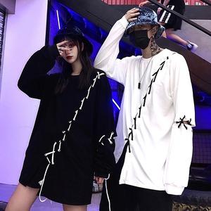 【トップス】ストリート系ナイトクラブファッションTシャツ42913486