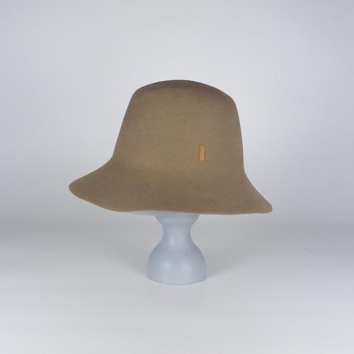 AW21-BD-5 Rabbit Felt Roller Hat - BEG/MAG