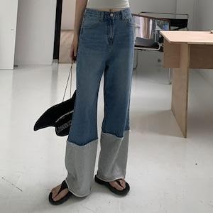 Sports denim pants(スポーツデニムパンツ)b-181