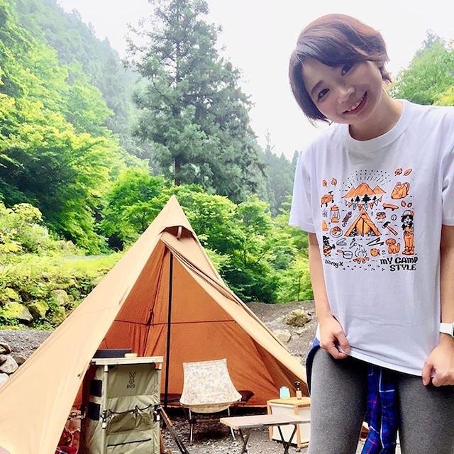 ★再販200枚限定★my camp style  x azuroy x 2020 コラボTシャツ