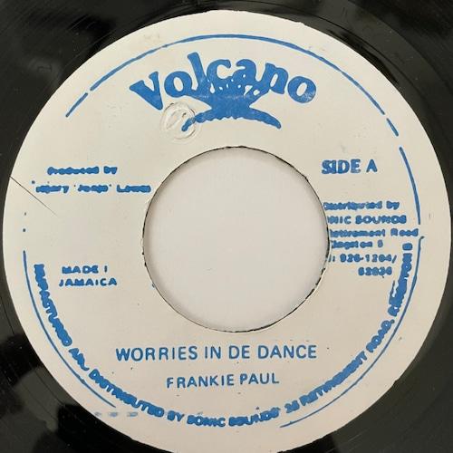 Frankie Paul - Worries In A Dance【7-20735】