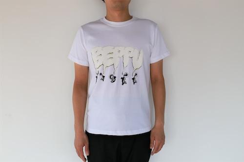 【川崎泰史】 ベップーTシャツ・白