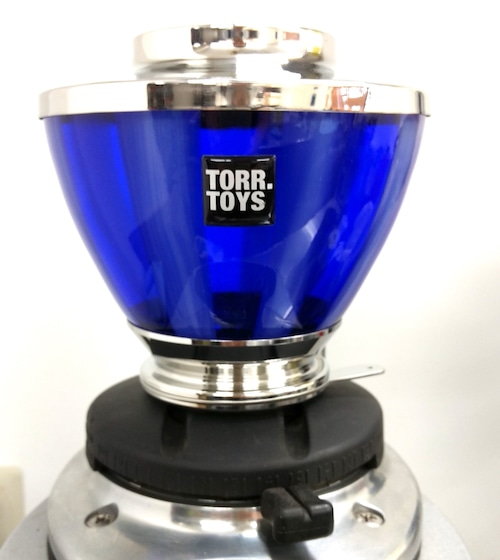 グラスホッパー●300g A 光沢 ブルーヴェルヴェット Mazzer S1(現品限り) コーヒーグラインダーホッパー