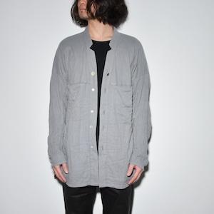 All Matching Shirt Jacket〈Grey〉