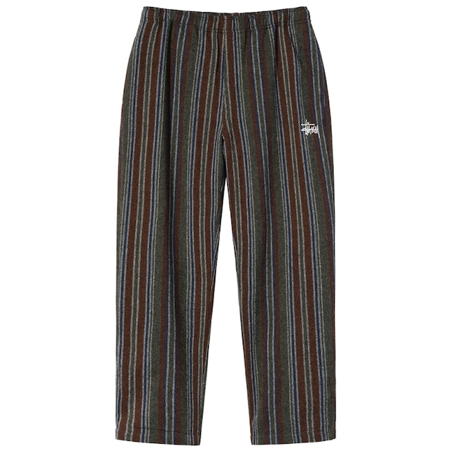 STUSSY WOOL STRIPE RELAXED PANT MULTI