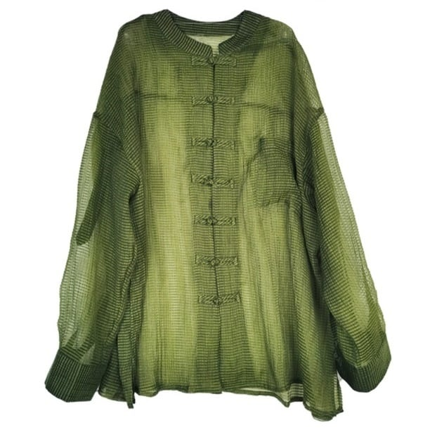 China sheer shirt(チャイナシアーシャツ)b-088